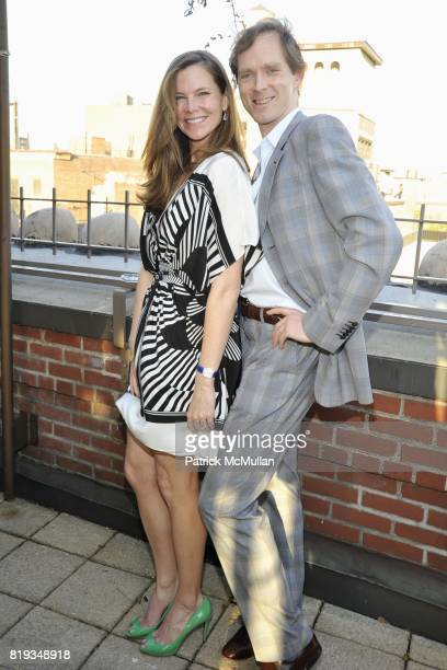Alex Kuczynski and Charles Askegard attend Book Party hosted by Anne and Jay McInerney Celebrating The Carrie Diaries by Candace Bushnell at Private...