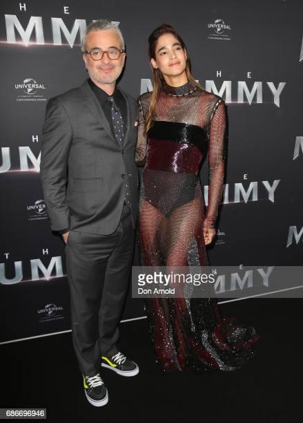 Alex Kurtzman and Sofia Boutella arrive ahead of The Mummy Australian Premiere at State Theatre on May 22 2017 in Sydney Australia