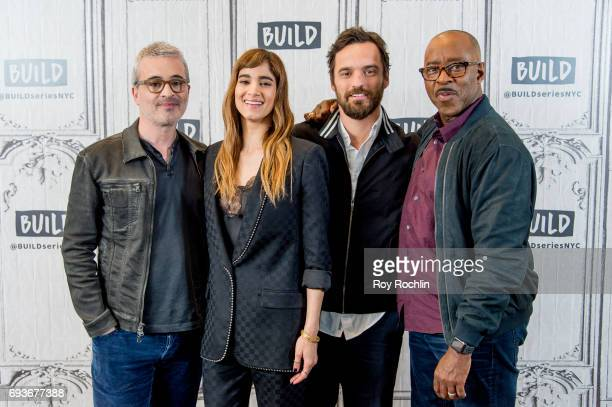 Alex Kurtzman Sofia Boutella Jake Johnson and Courtney B Vance discuss 'The Mummy' with the Build Series at Build Studio on June 7 2017 in New York...