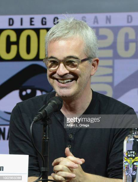 Alex Kurtzman speaks onstage at the 'Star Trek Discovery' panel during ComicCon International 2018 at San Diego Convention Center on July 20 2018 in...