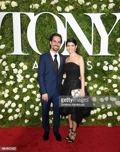 Alex Lacamoire and Ileana Ferreras attend the 2017 Tony Awards at Radio City Music Hall on June 11 2017 in New York City