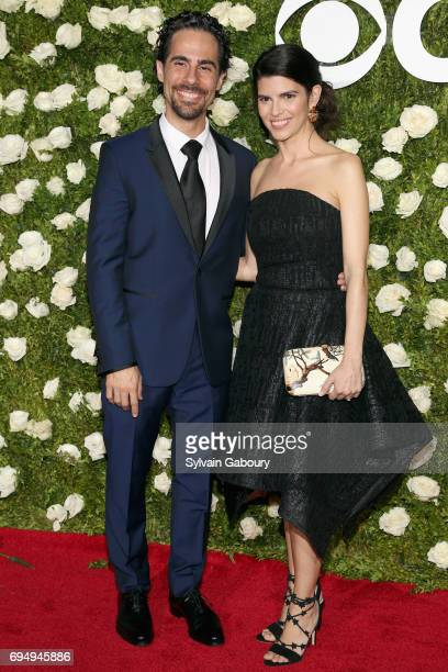 Alex Lacamoire and Ileana Ferreras attend the 2017 Tony Awards at Radio City Music Hall on June 11, 2017 in New York City.