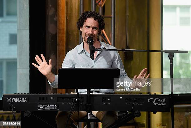 "Alex Lacamoire attends the AOL Build Speaker Series - Alex Lacamoire, ""Hamilton"" at AOL Studios In New York on May 31, 2016 in New York City."
