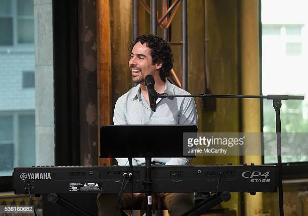 Alex Lacamoire attends the AOL Build Speaker Series Alex Lacamoire Hamilton at AOL Studios In New York on May 31 2016 in New York City
