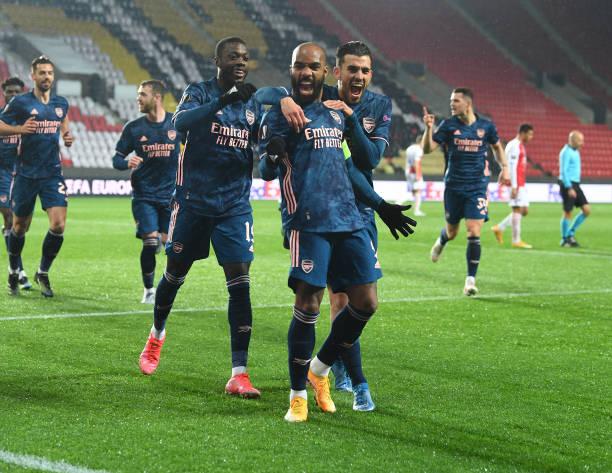 CZE: Slavia Praha v Arsenal FC - UEFA Europa League Quarter Final: Leg Two