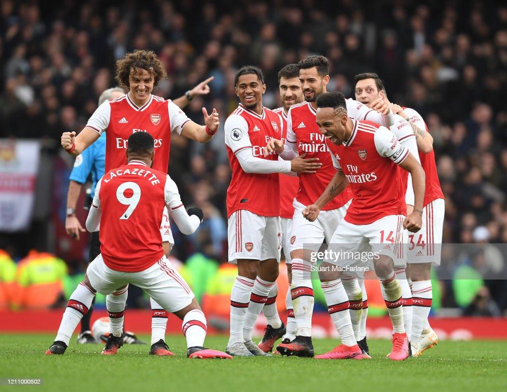 Arsenal FC v West Ham United - Premier League : ニュース写真