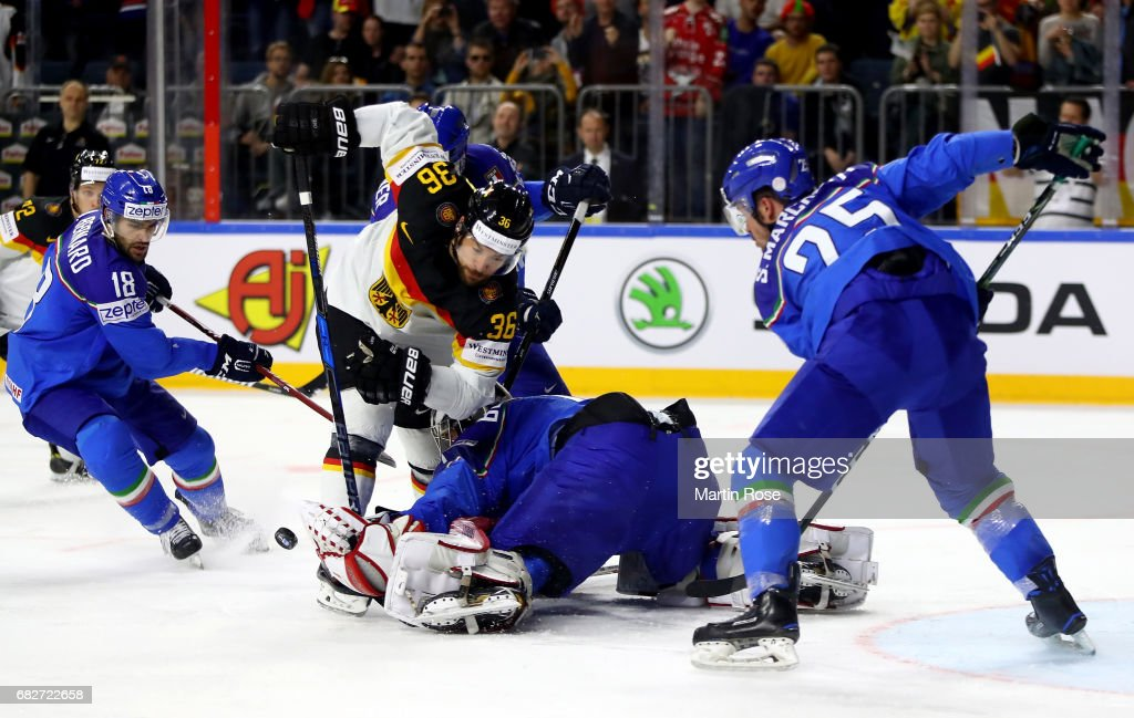 Italy v Germany - 2017 IIHF Ice Hockey World Championship