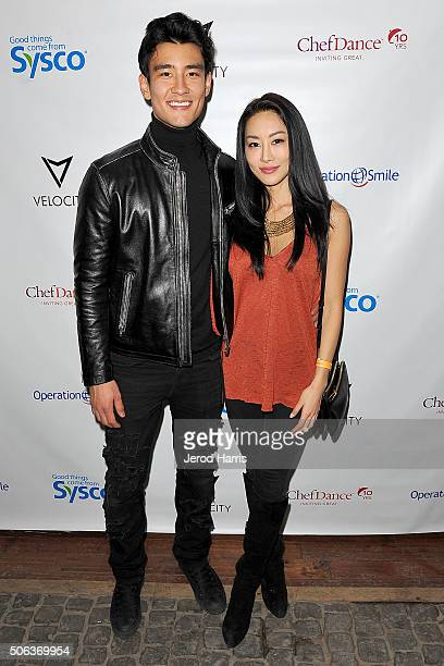 Alex Landi and Jamie Choi attend ChefDance Park City 2016 Presented By Velocity Night 1 on January 22 2016 in Park City Utah