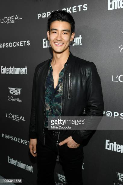 Alex Landi attends Entertainment Weekly Celebrates Screen Actors Guild Award Nominees sponsored by L'Oreal Paris Cadillac And PopSockets at Chateau...