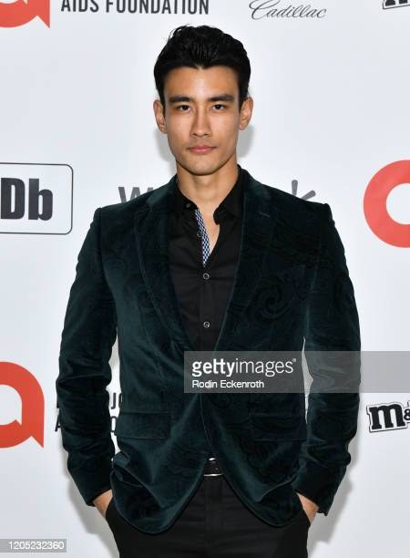 Alex Landi attends the 28th Annual Elton John AIDS Foundation Academy Awards Viewing Party Sponsored By IMDb And Neuro Drinks on February 09 2020 in...