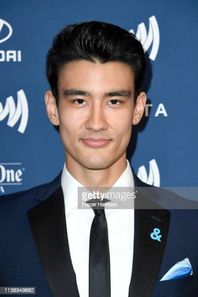 Alex Landi attends the 30th Annual GLAAD Media Awards at The Beverly Hilton Hotel on March 28 2019 in Beverly Hills California