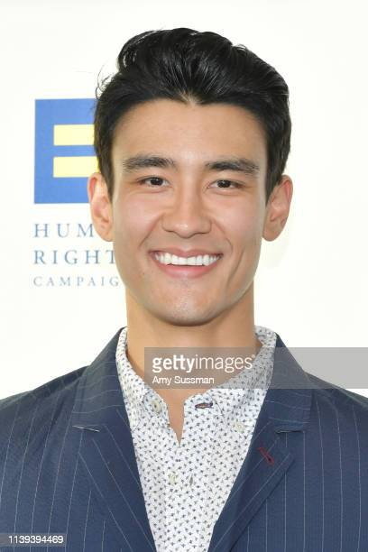 Alex Landi attends the Human Rights Campaign 2019 Los Angeles Dinner at JW Marriott Los Angeles at LA LIVE on March 30 2019 in Los Angeles California