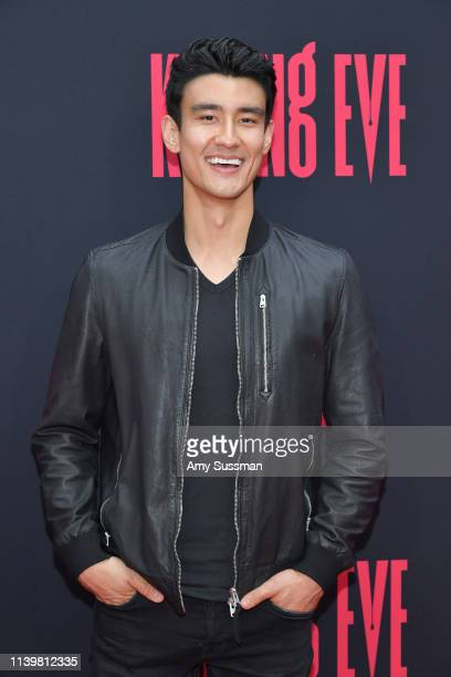 Alex Landi attends the premiere of BBC America and AMC's Killing Eve Season 2 at ArcLight Hollywood on April 01 2019 in Hollywood California