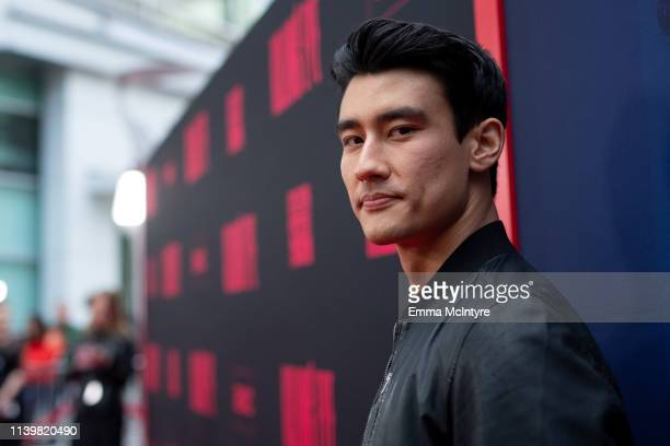Alex Landi attends the premiere of BBC America and AMC's 'Killing Eve' at ArcLight Hollywood on April 01 2019 in Hollywood California