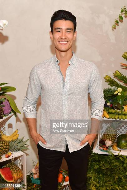 Alex Landi attends the Ted Baker London SS'19 Launch Event at Elephante on March 20 2019 in Santa Monica California