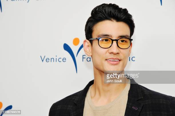 Alex Landi attends Venice Family Clinic Hosts 37th Annual Silver Circle Gala Honoring Ivy Kagan Bierman and Russel Tyner at Regent Beverly Wilshire...