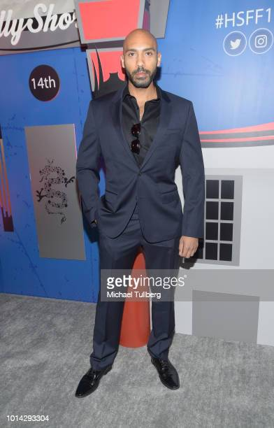 Alex Lanipekun attends the opening night of the 14th HollyShorts Film Festival at TCL Chinese Theatre on August 9 2018 in Hollywood California
