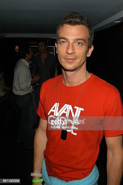 Alex Lasky attends May Anderson's Birthday Party at 49 Grove NYC USA on June 21 2005