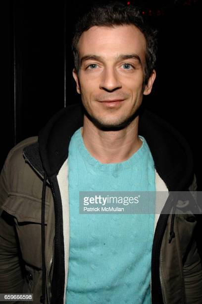 Alex Lasky attends PATRICK MCMULLAN's Annual St Patrick's Day Party at Greenhouse on March 17 2009 in New York City