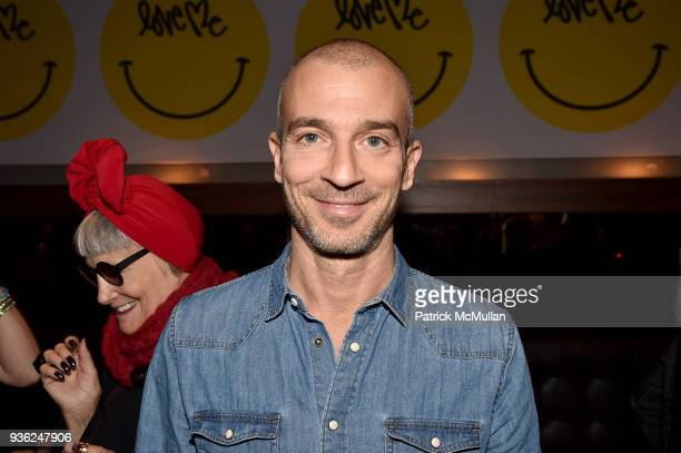 Alex Lasky attends Stephen Petronio Company 2018 Gala honoring Patricia Field and Sylvia Drulie Mazzola at Kola House on March 21 2018 in New York...