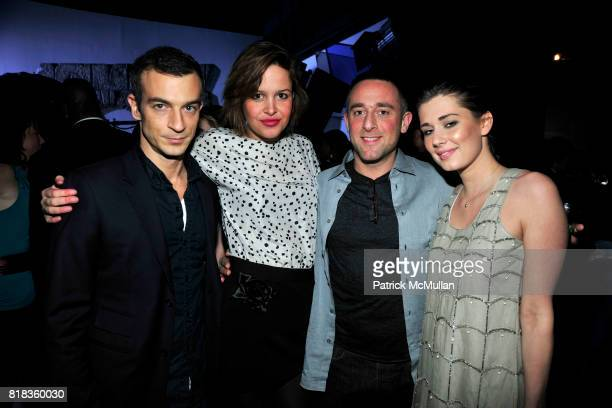 Alex Lasky Chelsea Hall James Coledano and Nicole Raef attend PIER 59 Studios 15th Anniversary Party at PIER 59 Studios on February 12 2010 in New...