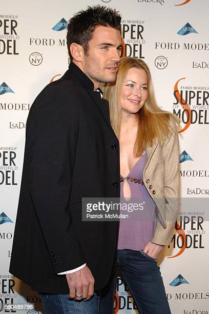 Alex Lasky Robert Lasky and Laeticia Bower attend Ford Models Supermodel of the World Contest at The Ford Tunnel on January 12 2005 in New York