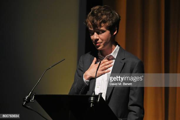 Alex Lawther attends the BFI Southbank's tribute to Sir John Hurt on June 25 2017 in London England