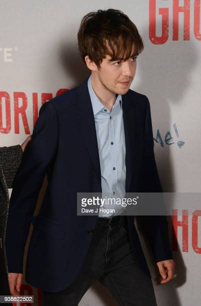 Alex Lawther attends the 'Ghost Stories' special screening atVue West End on March 27 2018 in London England