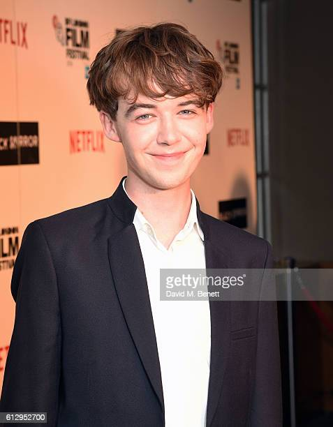 Alex Lawther attends the LFF Connects Television 'Black Mirror' event during the 60th BFI London Film Festival at Chelsea Cinema on October 6 2016 in...