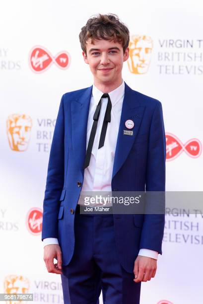 Alex Lawther attends the Virgin TV British Academy Television Awards at The Royal Festival Hall on May 13 2018 in London England