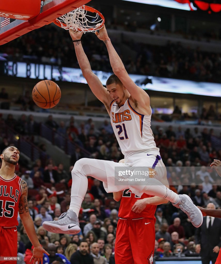 Len Trier suns v chicago bulls photos and images getty images
