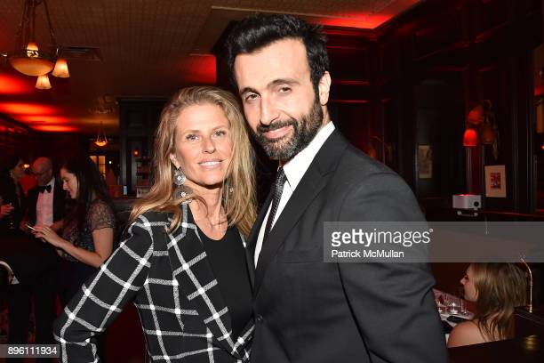 Alex Lerner and Gregory Fellous attend Julie Macklowe's 40th birthday Spectacular at La Goulue on December 19 2017 in New York City