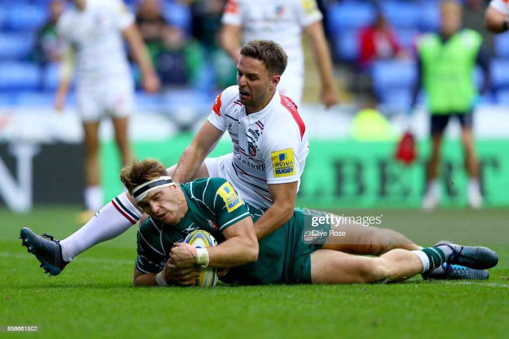 London Irish v Leicester Tigers - Aviva Premiership : News Photo