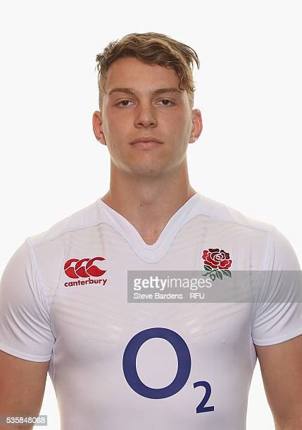 Alex Lewington poses for a portrait during the England Saxons photo call at The Lensbury on May 30 2016 in Teddington England