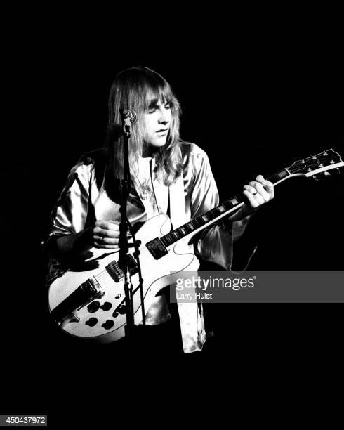 Alex Lifeson performing with 'Rush' at the Stockton Civic Auditorium in Stockton California on September 27 1977