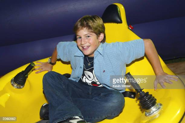 Alex Linz at NBC's TCA Summer Tour Party at the RitzCarlton in Pasadena Ca Wednesday July 24 2002 Photo by Kevin Winter/ImageDirect