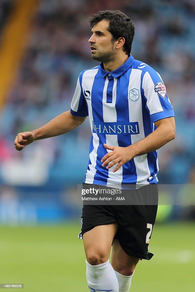 Alex Lopez of Sheffield Wednesday during the Sky Bet Championship match between Sheffield Wednesday and Middlesbrough at Hillsborough on August 29, 2015 in Sheffield, England.