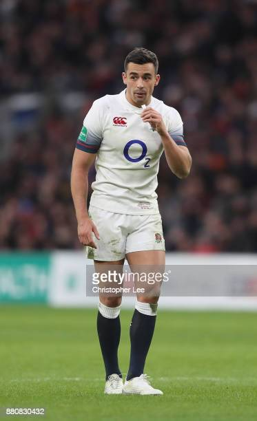 Alex Lozowski of England during the Old Mutual Wealth Series match between England and Samoa at Twickenham Stadium on November 25 2017 in London...