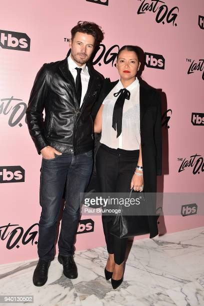 Alex Lundqvist and Keytt Lundqvist attend TBS hosts the premiere of 'The Last OG' at The William Vale in the Brooklyn borough of New York City New...