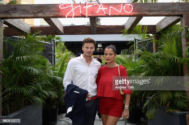 Alex Lundqvist and Keytt Lundqvist attend the Gitano NYC preview celebration on June 21 2018 in New York City