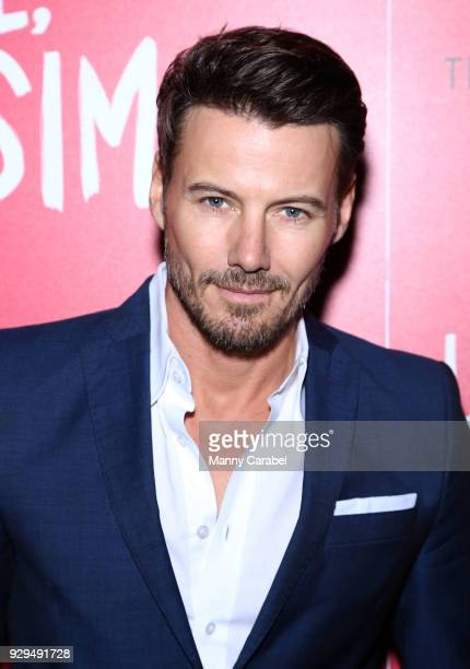 Alex Lundqvist attends 20th Century Fox Wingman host a NYC screening of LoveSimon at Landmark Theatre on March 8 2018 in New York City