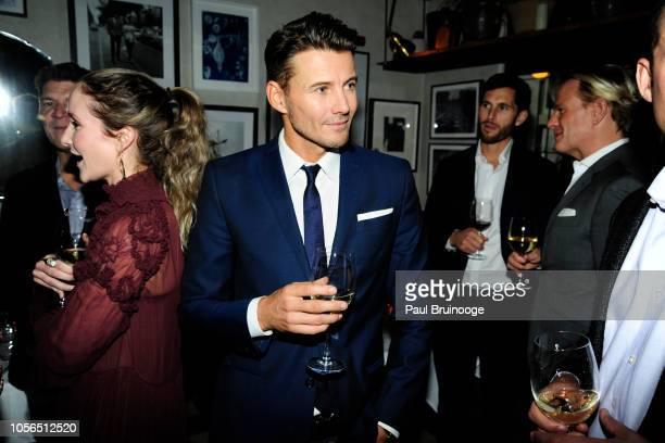 Alex Lundqvist attends Rudd Oakville Estate Dinner at Bistrot Leo on October 17 2018 in New York City