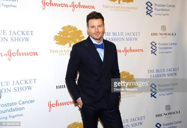 Alex Lundqvist attends the 2nd Annual Blue Jacket Fashion Show at Pier 59 Studios on February 7 2018 in New York City