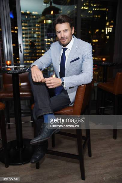 Alex Lundqvist attends the after party for the screening of Midnight Sun at The Skylark on March 22 2018 in New York City