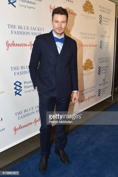 Alex Lundqvist attends The Blue Jacket Fashion Show Benefiting Prostate Cancer Foundation at Pier 59 on February 7 2018 in New York City