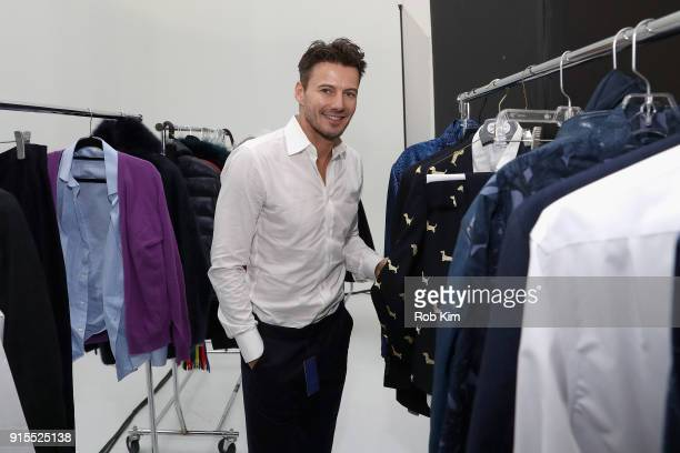 Alex Lundqvist attends the Blue Jacket Fashion Show to benefit the Prostate Cancer Foundation on February 7 2018 in New York City