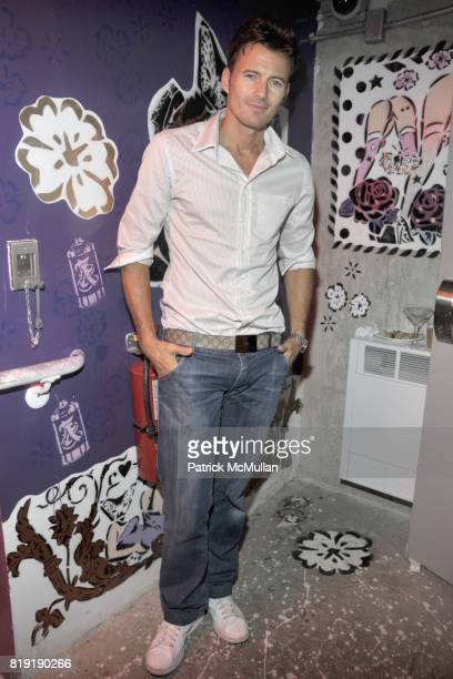 Alex Lundqvist attends THE CINEMA SOCIETY 2IST Host The After Party for 'TWELVE' at Le Bain at The Standard Hotel on July 28 2010 in New York City