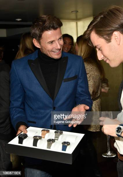 Alex Lundqvist attends the Haute Living And Zenith Honor Dolph Lundgren at Mr Chow in Tribeca on November 12 2018 in New York City