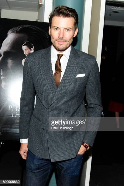 Alex Lundqvist attends the New York premiere of 'Phantom Thread' at The Film Society of Lincoln Center Walter Reade Theatre on December 11 2017 in...