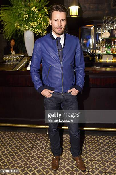 "Alex Lundqvist attends the premiere of the SHOWTIME original comedy series ""HAPPYish"" on April 20 2015 in New York City Following the screening..."